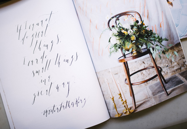 Learn calligraphy for beginners in Manchester. Image credit Inbetween Days Photography (1)
