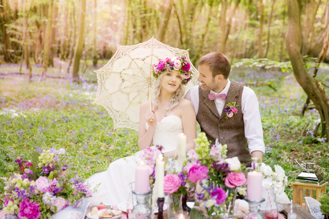 Woodland wedding inspo in Kent with Blue Daisies Florist and Your Beautiful Day. Image credit Helen England Photography (25)