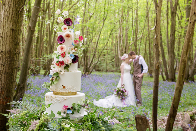 Woodland wedding inspo in Kent with Blue Daisies Florist and Your Beautiful Day. Image credit Helen England Photography (11)