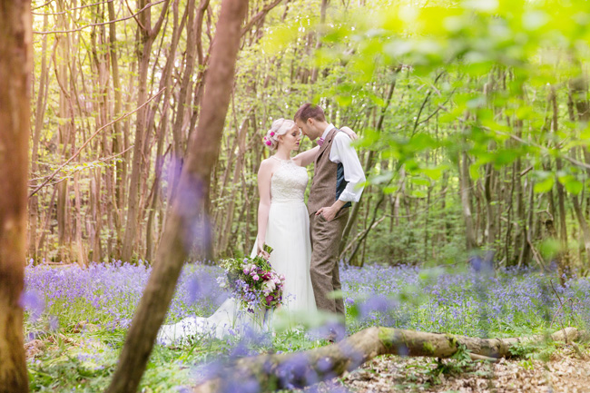 Woodland wedding inspo in Kent with Blue Daisies Florist and Your Beautiful Day. Image credit Helen England Photography (10)