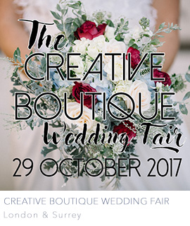 Creative Boutique Wedding Fair Surrey London