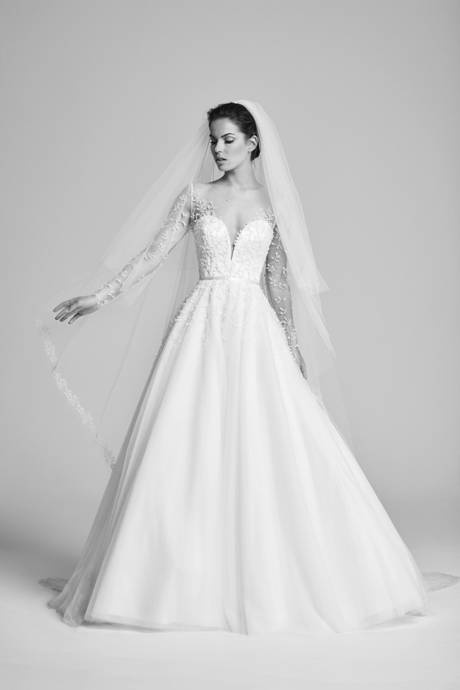 Belle Epoque bridal collection by British designer Suzanne Neville on the English Wedding Blog (17)