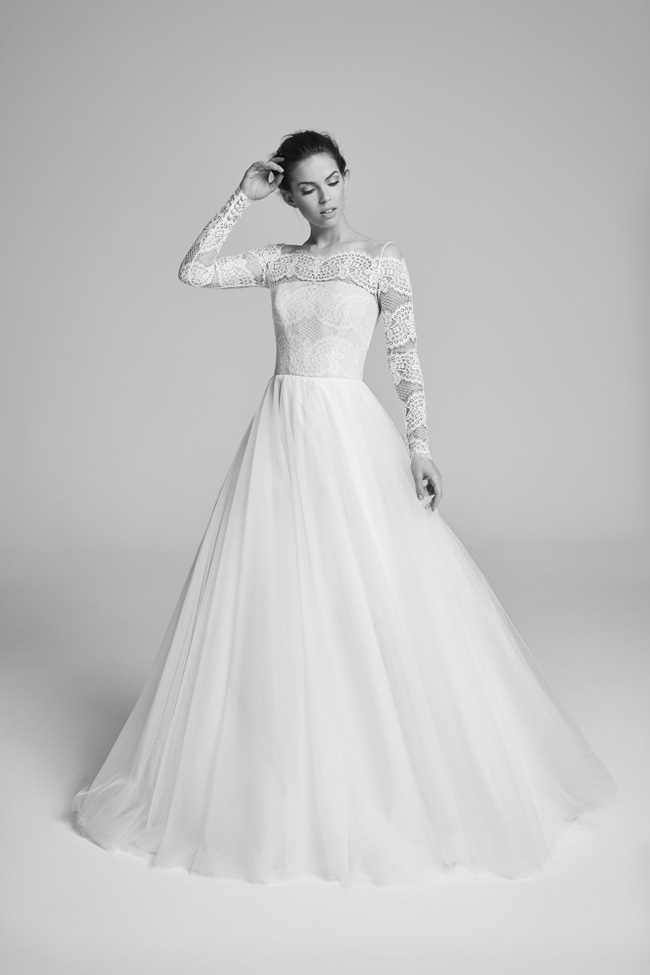 Belle Epoque bridal collection by British designer Suzanne Neville on the English Wedding Blog (23)