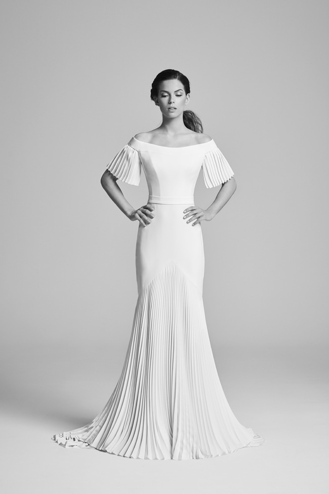 Belle Epoque bridal collection by British designer Suzanne Neville on the English Wedding Blog (3)