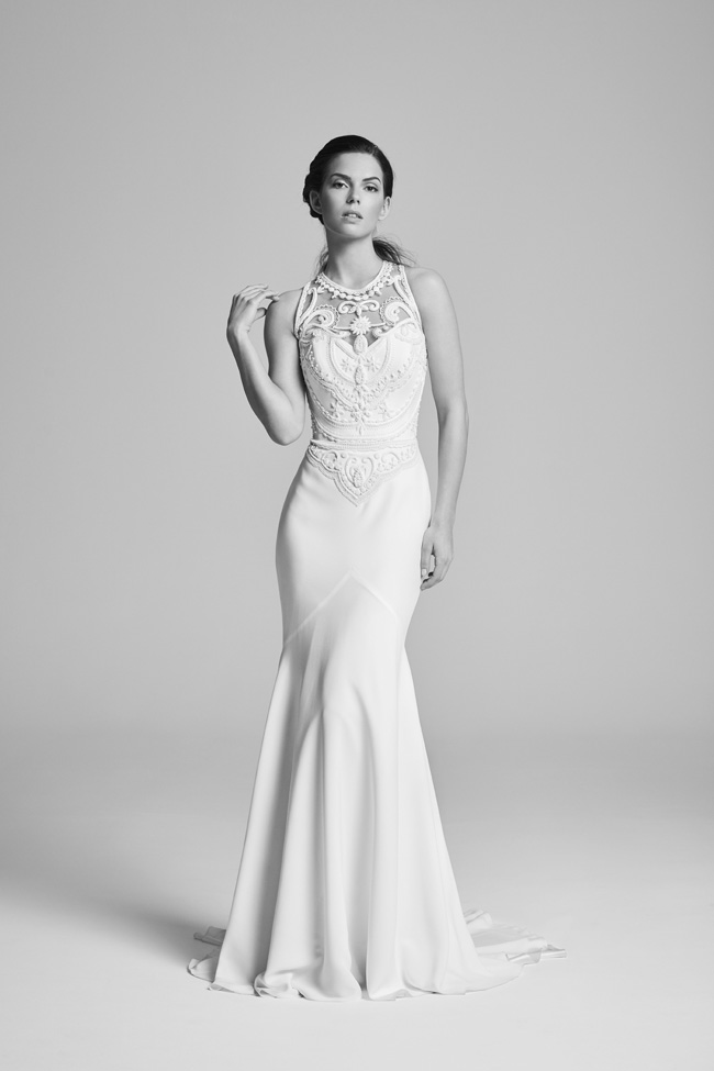 Belle Epoque bridal collection by British designer Suzanne Neville on the English Wedding Blog (4)