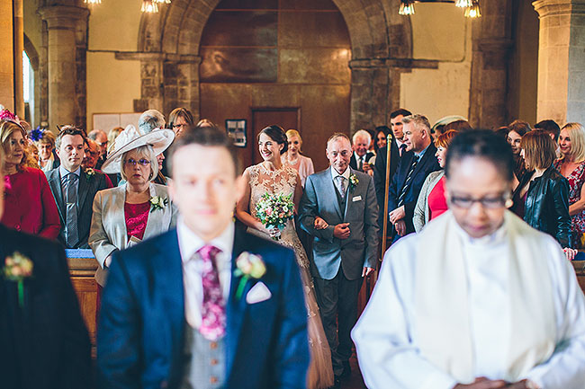 Crafty wedding styling and a beautiful blush pink dress at Chequers Inn, with The Crawleys (11)