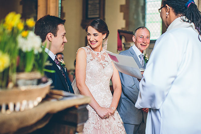 Crafty wedding styling and a beautiful blush pink dress at Chequers Inn, with The Crawleys (13)