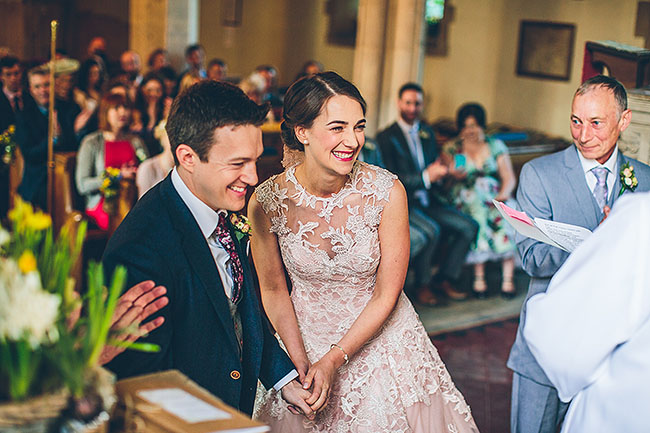 Crafty wedding styling and a beautiful blush pink dress at Chequers Inn, with The Crawleys (14)
