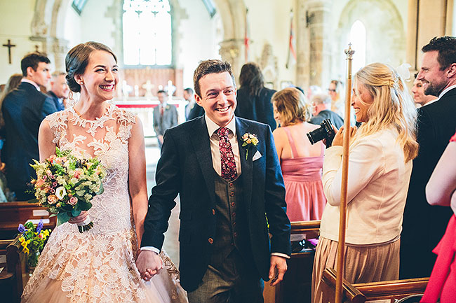 Crafty wedding styling and a beautiful blush pink dress at Chequers Inn, with The Crawleys (15)