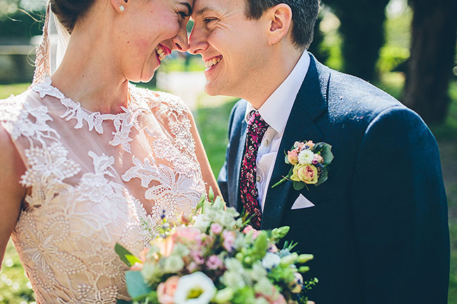 Crafty wedding styling and a beautiful blush pink dress at Chequers Inn, with The Crawleys (19)