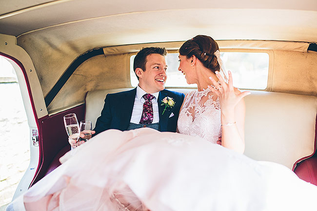 Crafty wedding styling and a beautiful blush pink dress at Chequers Inn, with The Crawleys (20)