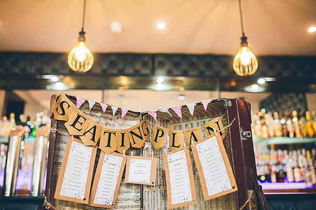 Crafty wedding styling and a beautiful blush pink dress at Chequers Inn, with The Crawleys (23)
