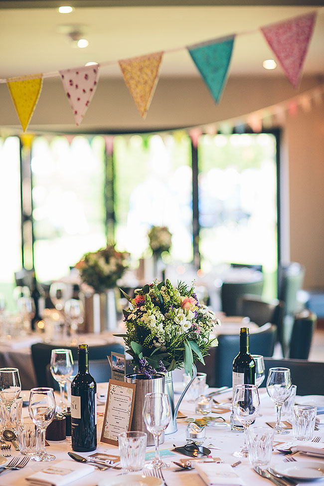 Crafty wedding styling and a beautiful blush pink dress at Chequers Inn, with The Crawleys (29)