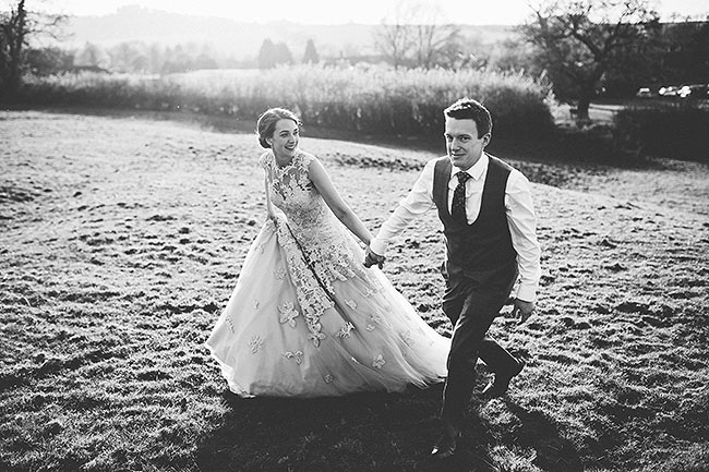 Crafty wedding styling and a beautiful blush pink dress at Chequers Inn, with The Crawleys (31)