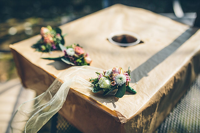 Crafty wedding styling and a beautiful blush pink dress at Chequers Inn, with The Crawleys (2)
