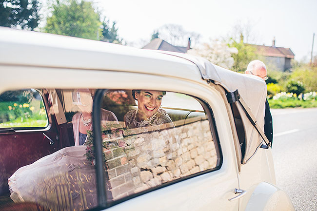 Crafty wedding styling and a beautiful blush pink dress at Chequers Inn, with The Crawleys (8)