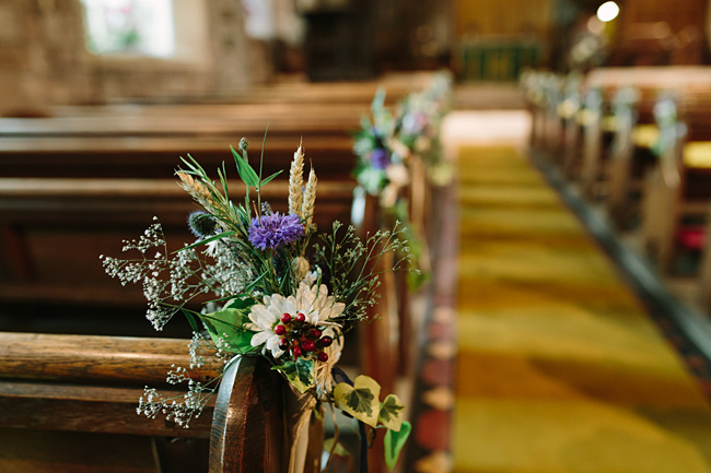 Pretty garden flowers and crafty country styling for a Shopshire wedding, images by Tony Fanning (32)