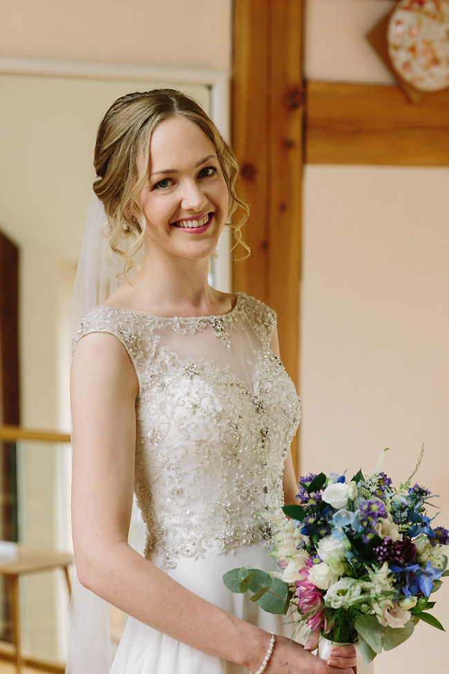 Pretty garden flowers and crafty country styling for a Shopshire wedding, images by Tony Fanning (27)