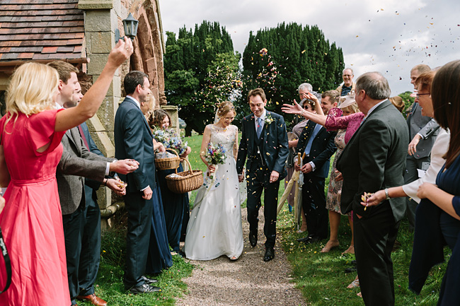 Pretty garden flowers and crafty country styling for a Shopshire wedding, images by Tony Fanning (23)