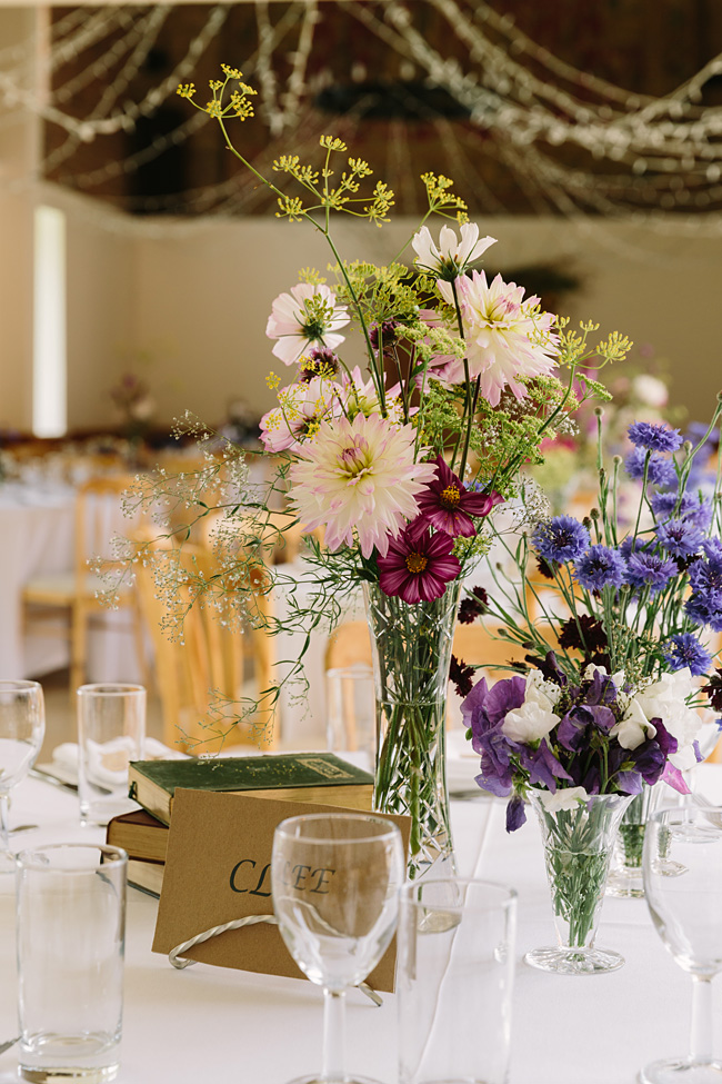 Pretty garden flowers and crafty country styling for a Shopshire wedding, images by Tony Fanning (21)