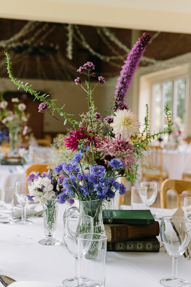 Pretty garden flowers and crafty country styling for a Shopshire wedding, images by Tony Fanning (20)