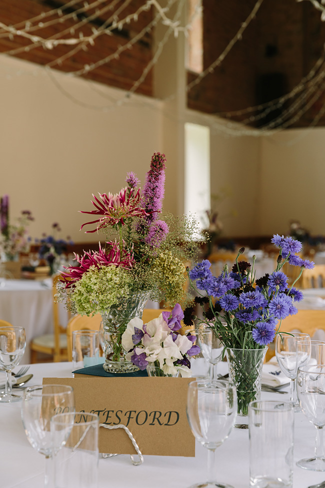 Pretty garden flowers and crafty country styling for a Shopshire wedding, images by Tony Fanning (19)