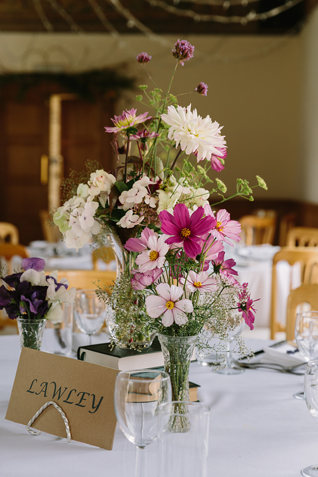 Pretty garden flowers and crafty country styling for a Shopshire wedding, images by Tony Fanning (17)