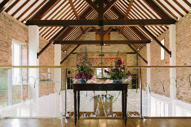 Pretty garden flowers and crafty country styling for a Shopshire wedding, images by Tony Fanning (10)