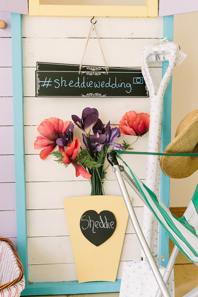 Pretty garden flowers and crafty country styling for a Shopshire wedding, images by Tony Fanning (8)