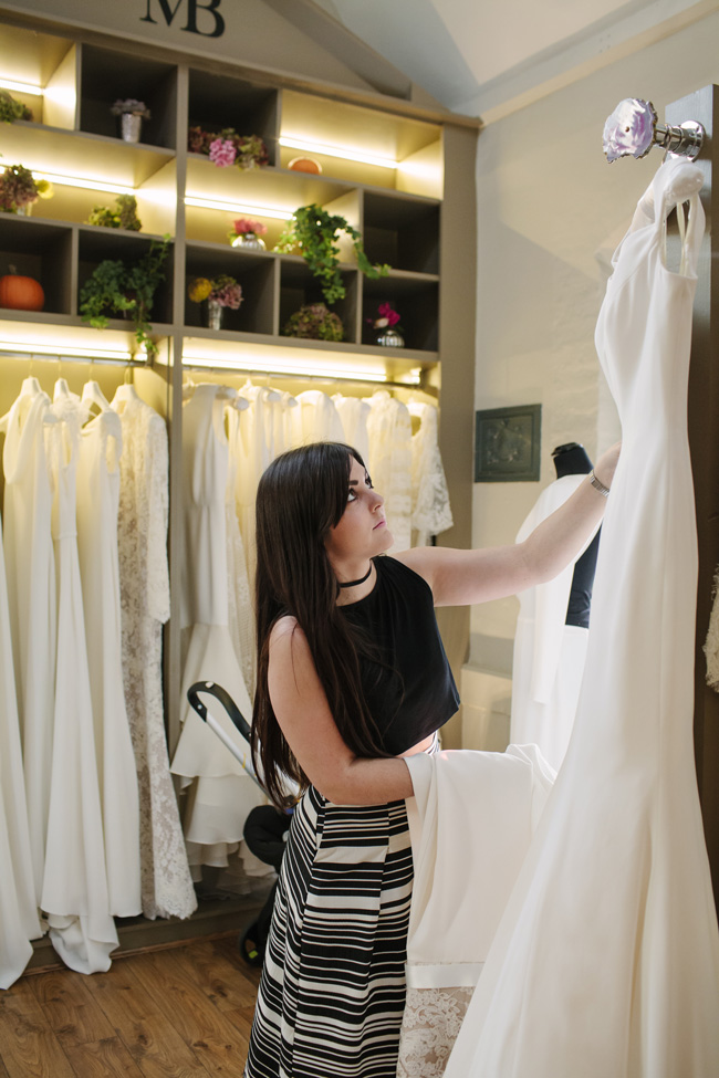 Tips and heartfelt advice for finding 'the' dress - with Jenna Hewitt at Miss Bush Bridal (6)