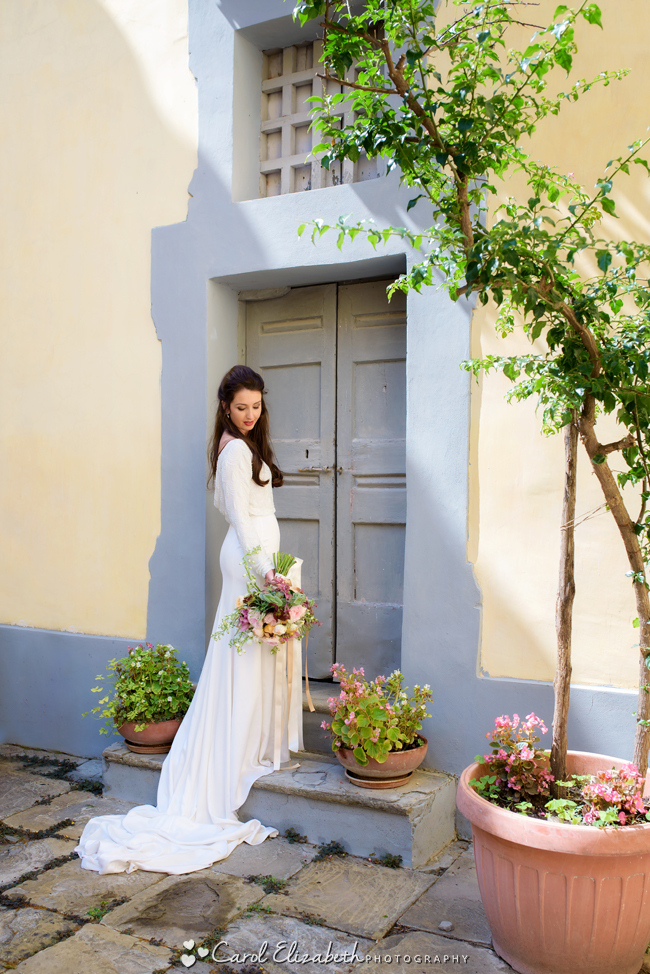 Italian wedding elopement inspiration shoot, images by Carol Elizabeth Photography (6)