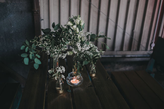 Greenery and gorgeous urban chic styling at Manchester Victoria Warehouse with Kate McCarthy Photography (5)