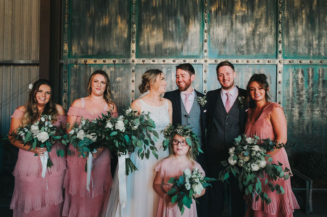 Greenery and gorgeous urban chic styling at Manchester Victoria Warehouse with Kate McCarthy Photography (18)