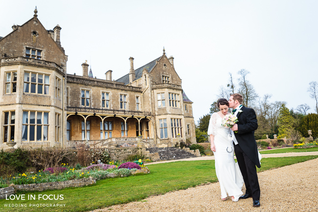 A foodie wedding with pretty, feminine styling at Orchardleigh House. Image credit Love In Focus, Bristol (12)