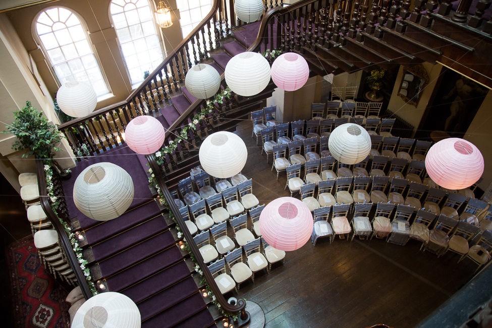 Beautiful styling touches for an elegant Bristol wedding. Image credit Martin Dabek Photography (6)