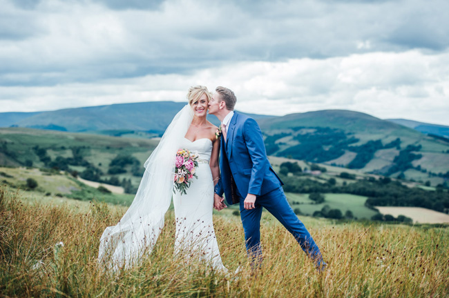 Stunning vibrant florals for a Welsh wedding with Jake Morley Photography (41)