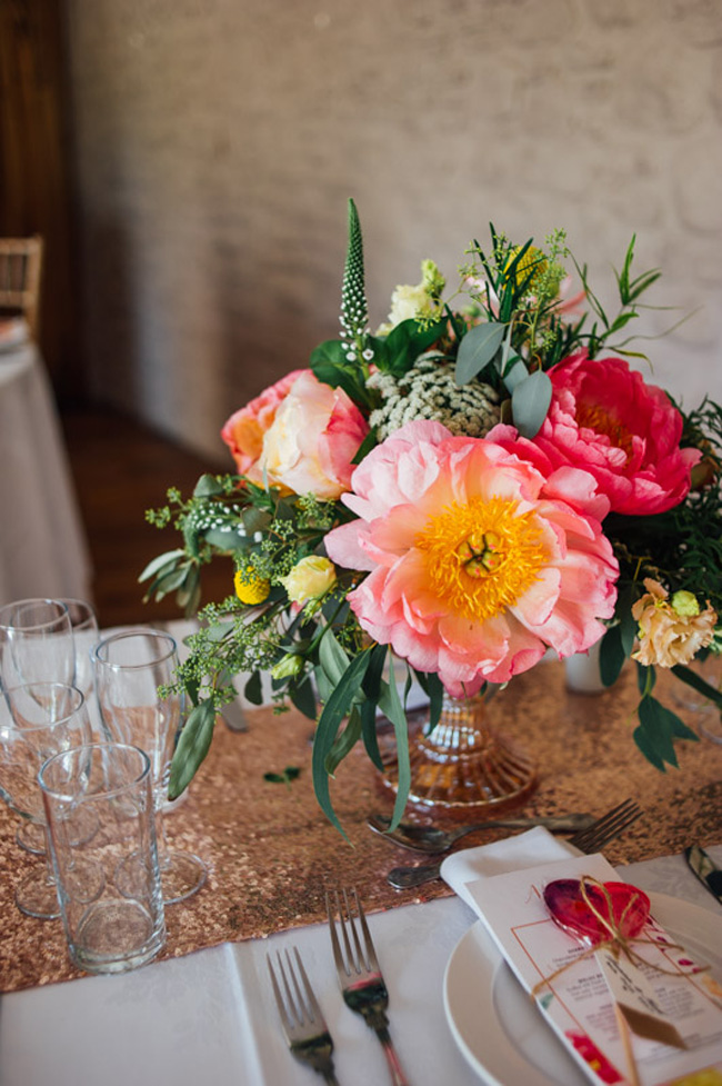 Stunning vibrant florals for a Welsh wedding with Jake Morley Photography (8)