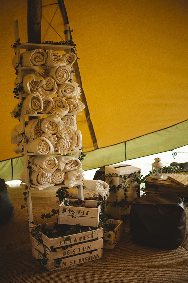 Tipis and sparkle with pretty summer florals for an Ashover wedding with Kindred Photography (9)
