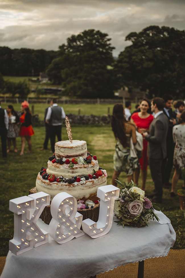 Tipis and sparkle with pretty summer florals for an Ashover wedding with Kindred Photography (29)