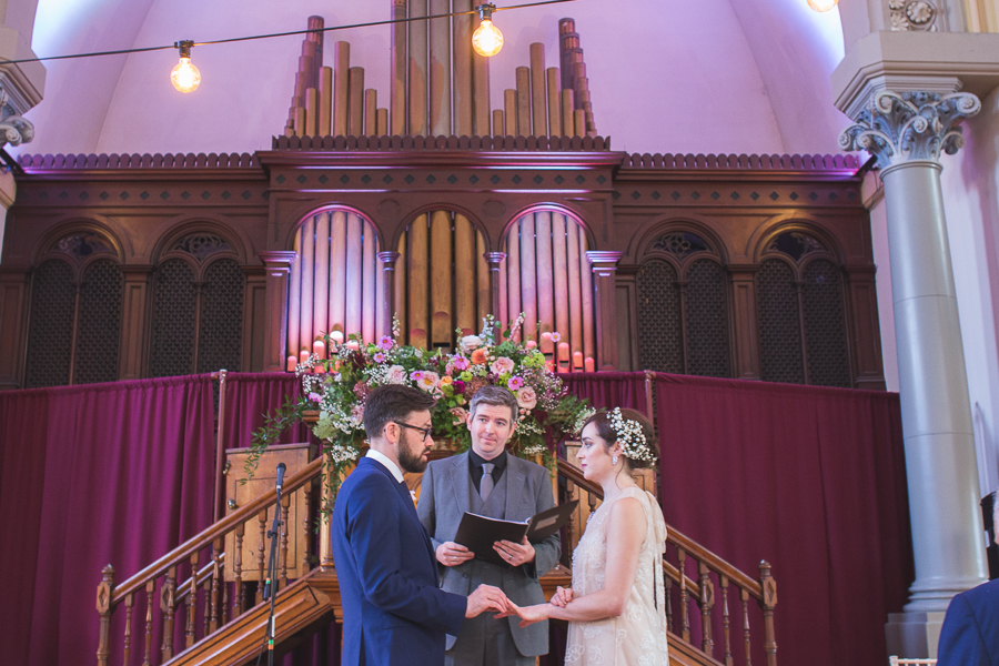 Eclectic, individual and timeless wedding styling at Hackney Round Chapel with images by Sam Taylor Photography (7)