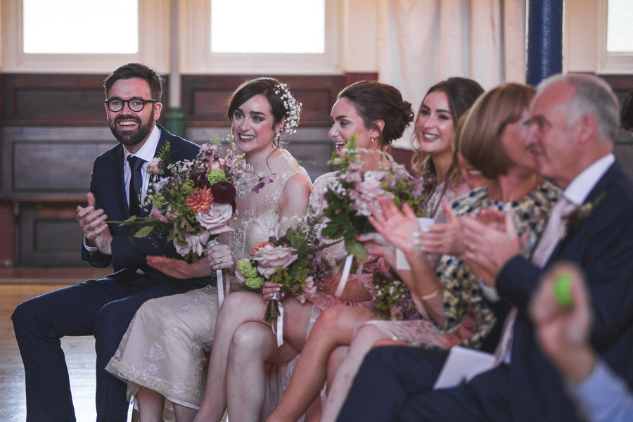 Eclectic, individual and timeless wedding styling at Hackney Round Chapel with images by Sam Taylor Photography (10)