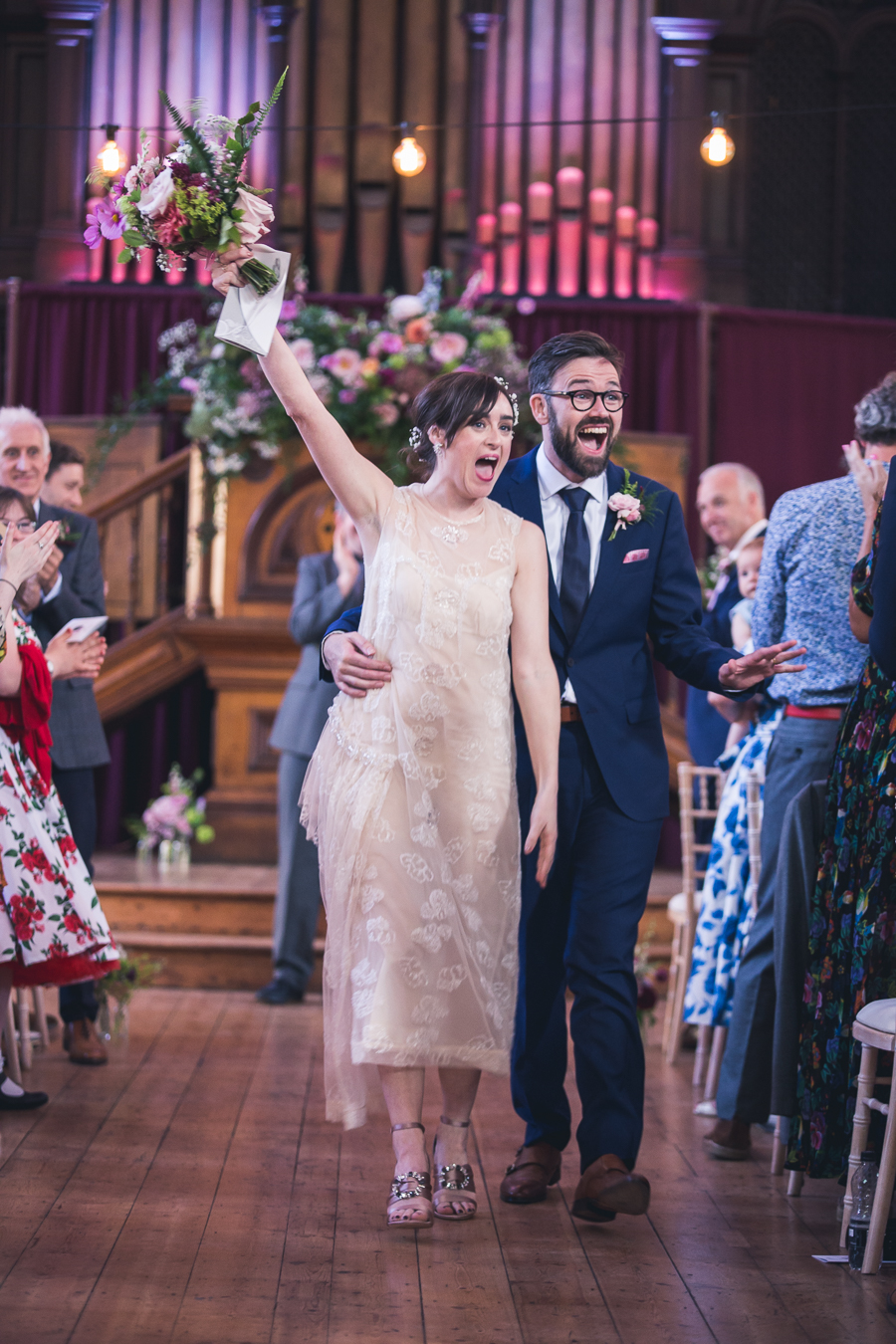 Eclectic, individual and timeless wedding styling at Hackney Round Chapel with images by Sam Taylor Photography (11)
