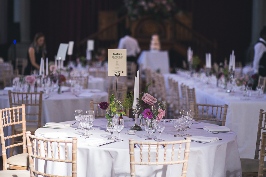 Eclectic, individual and timeless wedding styling at Hackney Round Chapel with images by Sam Taylor Photography (18)