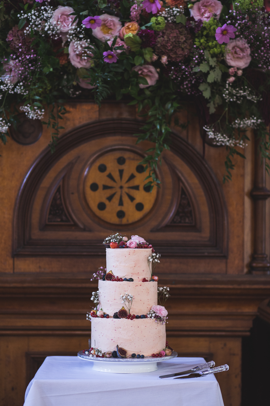 Eclectic, individual and timeless wedding styling at Hackney Round Chapel with images by Sam Taylor Photography (19)