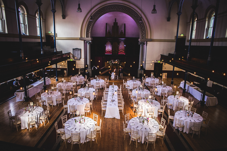 Eclectic, individual and timeless wedding styling at Hackney Round Chapel with images by Sam Taylor Photography (20)
