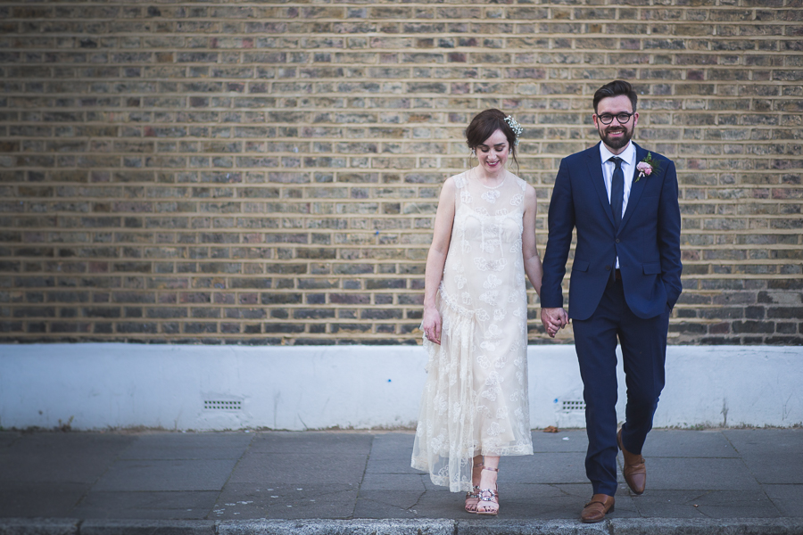 Eclectic, individual and timeless wedding styling at Hackney Round Chapel with images by Sam Taylor Photography (26)