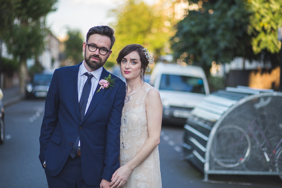 Eclectic, individual and timeless wedding styling at Hackney Round Chapel with images by Sam Taylor Photography (28)