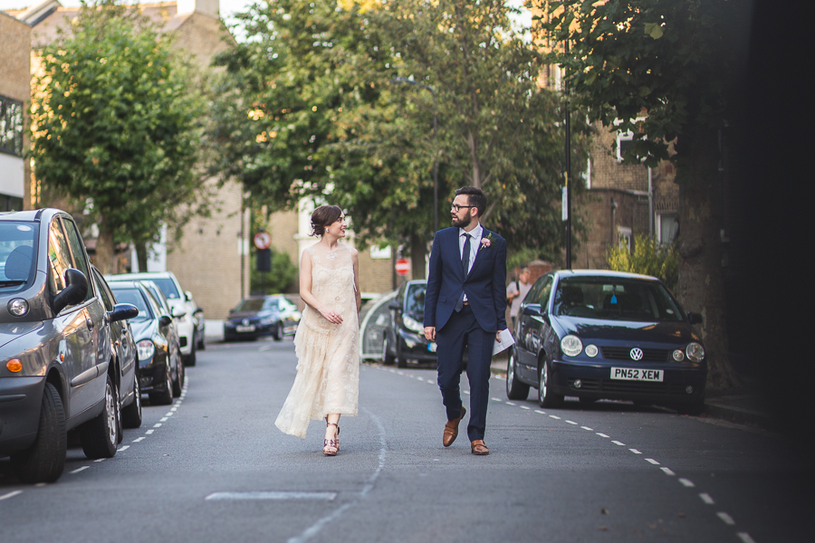 Eclectic, individual and timeless wedding styling at Hackney Round Chapel with images by Sam Taylor Photography (29)