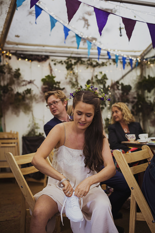 Eclectic details for a homemade wedding near Bath, with Heather Birnie Photography (24)