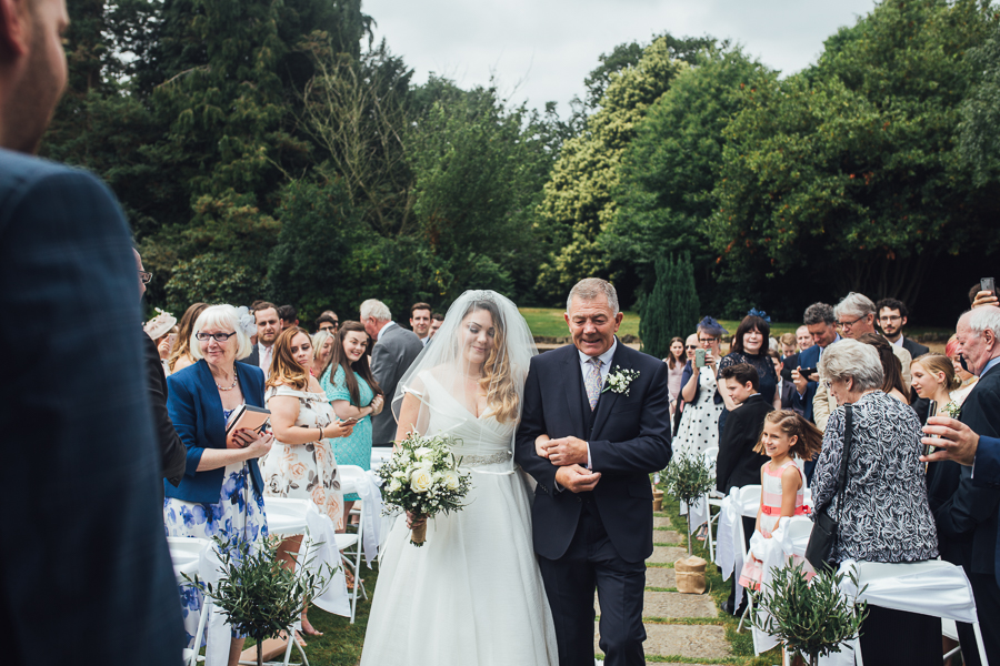 Hannah And Sami's Elegant Outdoor Wedding, With Images By